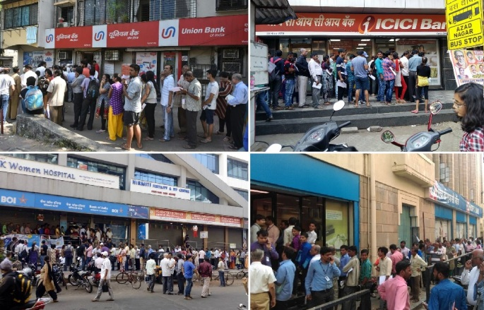 in-pictures-36-hours-after-demonetization-thousands-line-up-to-exchange-notes-at-mumbai-banks